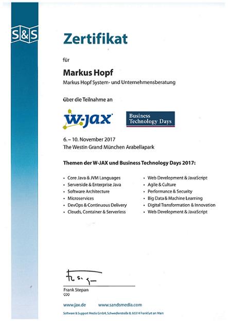 System und Unternehmensberatung MARKUS HOPF